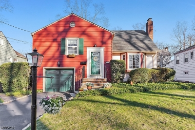 Fanwood Boro Single Family Home For Sale: 156 Marian Ave