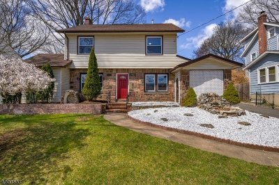 West Orange Twp. Single Family Home For Sale: 159 Gregory Ave