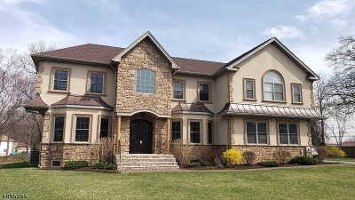 Parsippany-Troy Hills Twp. Single Family Home For Sale: 11 Aida Ct