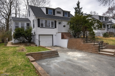 West Orange Twp. Single Family Home For Sale: 24 Sunnyside Rd
