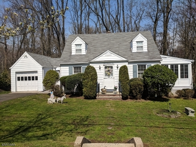 Cranford Twp. Single Family Home For Sale: 106 Mohawk Dr