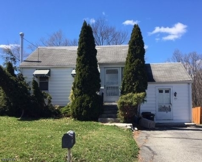 Parsippany-Troy Hills Twp. Single Family Home For Sale: 390 No Beverwyck