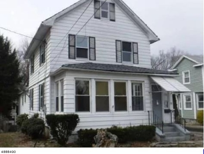 Boonton Town Single Family Home For Sale: 174 Chestnut St
