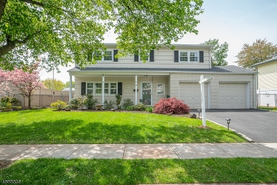 Cranford Twp. Single Family Home Active Under Contract: 17 Windsor Pl