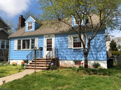 Roselle Boro Single Family Home For Sale: 625 Rosewood Ave