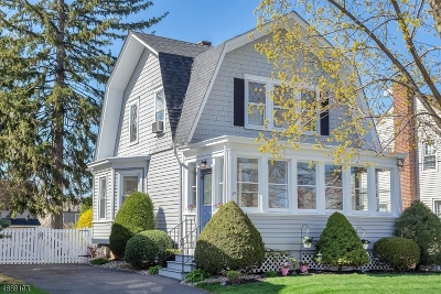 Nutley Twp. Single Family Home For Sale: 35 Kenzel Ave
