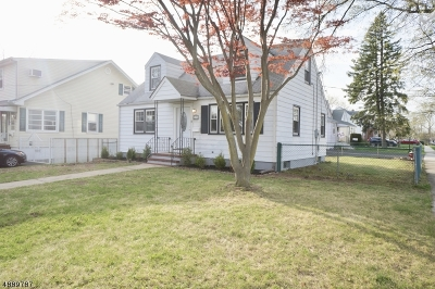 Roselle Park Boro Single Family Home For Sale: 327 W Lincoln Ave