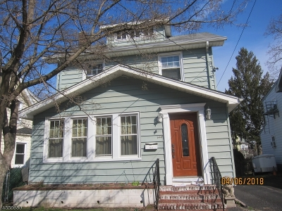 Belleville Twp. NJ Single Family Home For Sale: $280,000