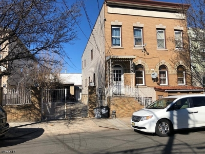 Essex County, Morris County, Union County Multi Family Home For Sale: 60-62 Delancy St