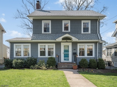 Maplewood Twp. Single Family Home For Sale: 557 Summit Ave