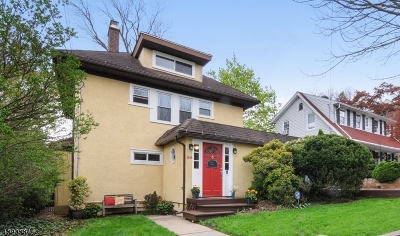 West Orange Twp. Single Family Home For Sale: 24 Ridgeview Ave