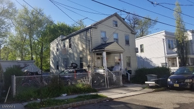 West Orange Twp. Multi Family Home For Sale: 17 Lafayette St