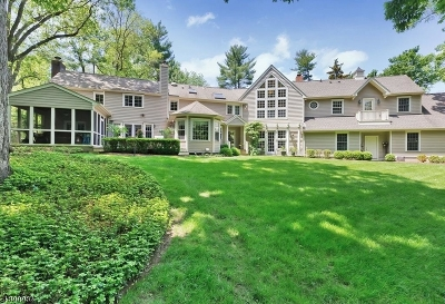 Chatham Twp. Single Family Home For Sale: 55 Linden Ln