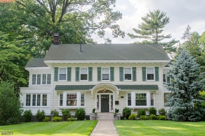 South Orange Village Twp. Single Family Home For Sale: 373 Grove Rd