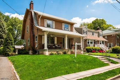 Maplewood Twp. Single Family Home For Sale: 153 Oakland Rd