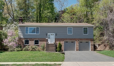 West Orange Twp. Single Family Home For Sale: 21 Undercliff Ter