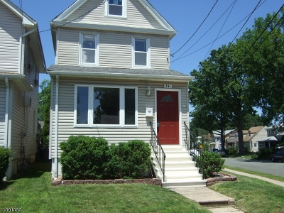 Roselle Park Boro Single Family Home For Sale: 341 Seaton Ave