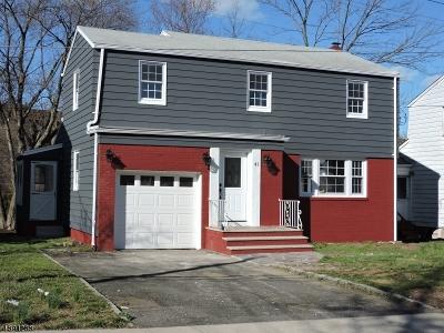 West Orange Twp. Single Family Home For Sale: 41 Buckingham Rd