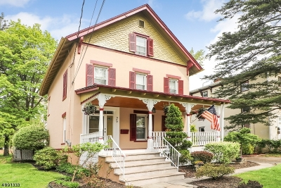 Plainfield City Single Family Home For Sale: 929-31 Watchung Ave