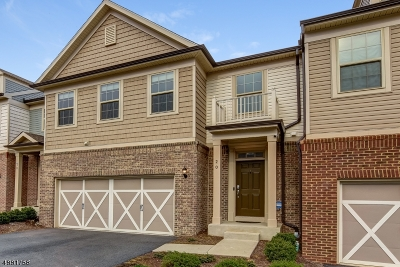 Randolph Twp. Condo/Townhouse For Sale: 20 Albert Ct