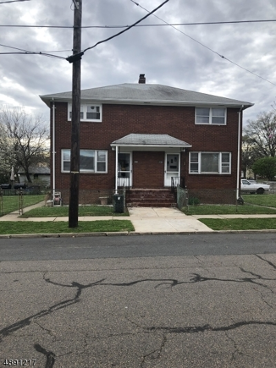 Rahway City Multi Family Home For Sale: 1652-54 Park St
