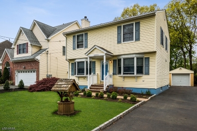Scotch Plains Twp. Single Family Home For Sale: 2233 Evergreen Ave