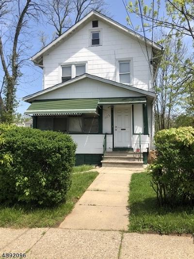 Roselle Boro Single Family Home For Sale: 1123 Thompson Ave