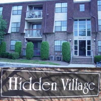 Perth Amboy City Condo/Townhouse For Sale: 1007 Hidden Village Dr