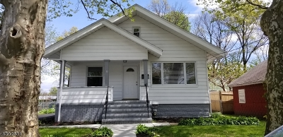 HILLSIDE Single Family Home For Sale: 11 Cedar St
