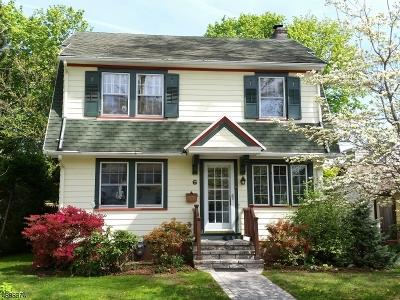 Glen Ridge Boro Twp. Single Family Home For Sale: 6 Hathaway Pl