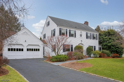 Millburn Twp. Single Family Home For Sale: 26 Woodland Rd