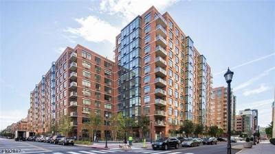 Hoboken City Condo/Townhouse For Sale: 1400 Hudson St #808