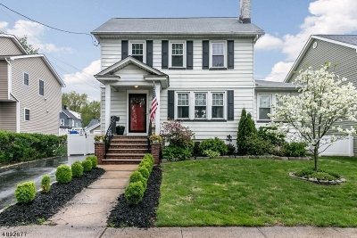 Cranford Twp. Single Family Home For Sale: 76 Benjamin St