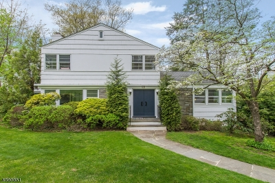 Millburn Twp. Single Family Home For Sale: 19 Martindale Rd