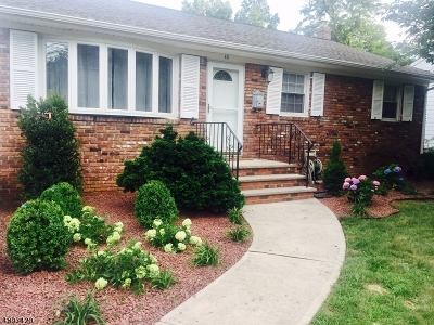 Summit City Single Family Home For Sale: 68 Morris Ave