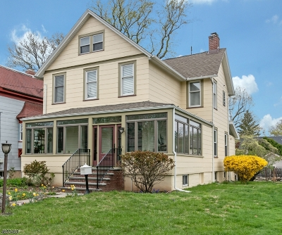 Cranford Twp. Single Family Home For Sale: 224 W North Ave