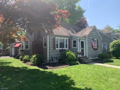 Scotch Plains Twp. Single Family Home For Sale: 2352 Coles Ave