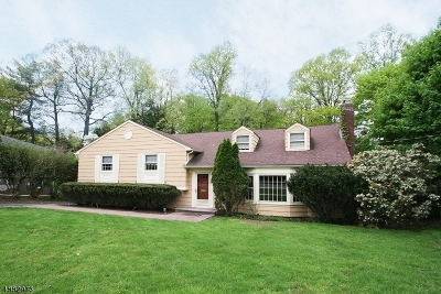 Millburn Twp. Single Family Home For Sale: 131 White Oak Ridge Rd