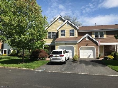 Morris Twp. Condo/Townhouse For Sale: 61 Constitution Way