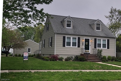 Cranford Twp. NJ Single Family Home For Sale: $449,000