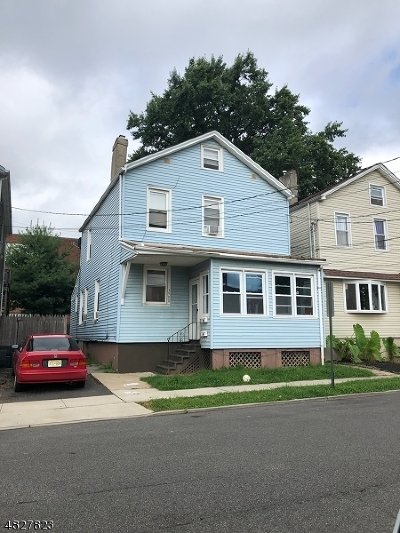 Rahway, Rahway City Multi Family Home For Sale: 1500 Campbell St