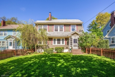 Montclair Twp. Single Family Home For Sale: 252 Grove St