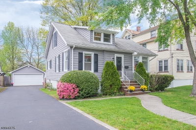 Cranford Twp. Single Family Home For Sale: 5 Fourth Ave