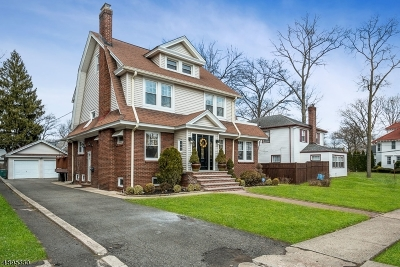 South Orange Village Twp. Single Family Home For Sale: 669 Cameron Rd
