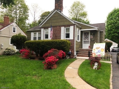 West Orange Twp. Single Family Home For Sale: 9 Crestmont Rd