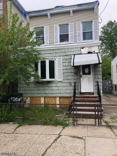 Jersey City Single Family Home For Sale: 118 Fulton Ave