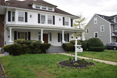Plainfield City Multi Family Home For Sale: 1028-36 Evergreen Ave