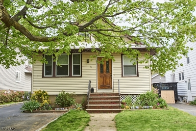 Springfield Single Family Home For Sale: 41 Clinton Ave