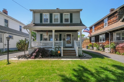 RAHWAY Single Family Home For Sale: 478 Sycamore St