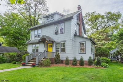 Montclair Twp. Single Family Home For Sale: 6 College Ave